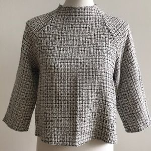 Zara 3/4 Sleeve Top - Size Small